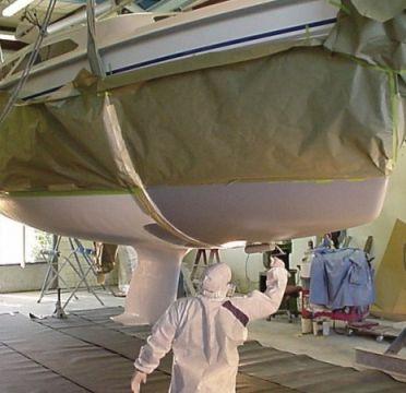 Hajók tisztítása